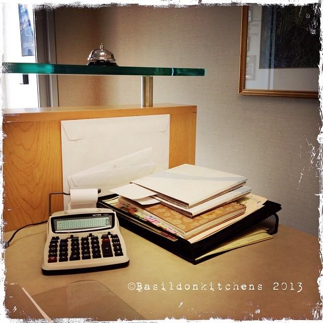 Oct 8 - corner {this is the corner of my desk!  Still lots if work to do!} #fmsphotoaday #corner #desk #work #office