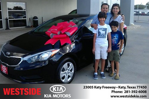 Westside KIA Houston Texas Customer Reviews and Testimonials-Jorge Vazquez by Westside KIA