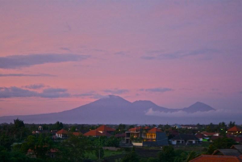 Pink Volcanoes