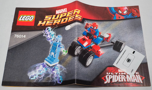 REVIEW LEGO 76014 Spiderman - Spider-Trike vs Electro