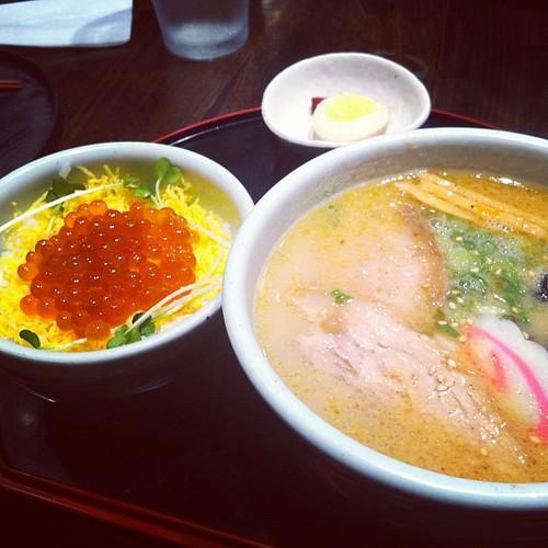 Mmmmmmmm so delicious ramen with @abeh