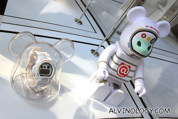 G-SHOCK + Be@rbrick