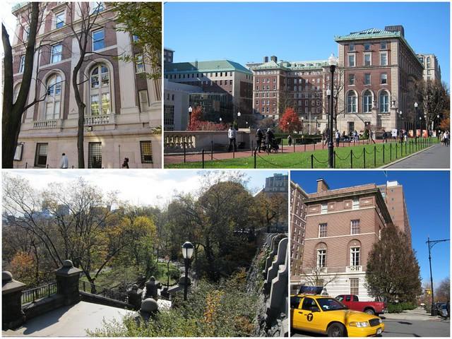 New York Columbia University - Morningside park