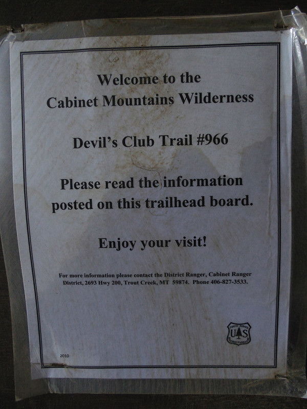 Devil's Club trail #966
