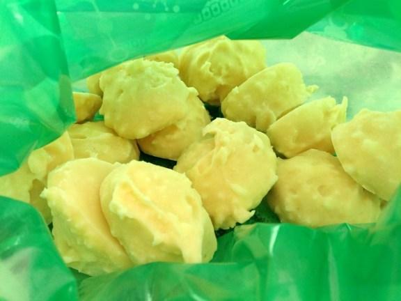 gougeres queso del pais