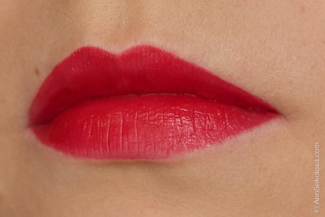 07 Avon   Ultra Colour Indulgence Lipstick   Red Tulip swatches