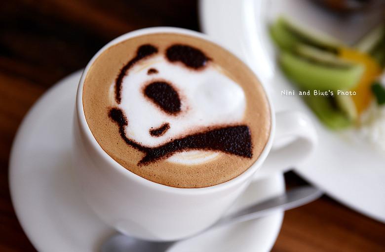 台中早午餐推薦冰滴咖啡插座餐廳胖達25