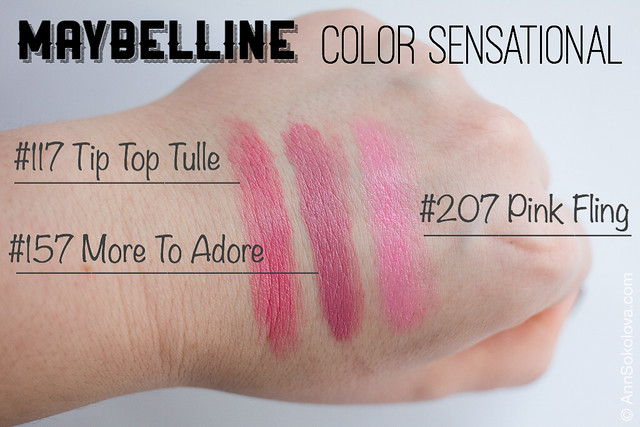 02 Maybelline Color Sensational swatches