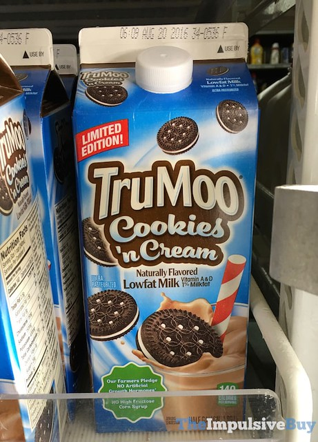 TruMoo Limited Edition Cookies 'n Cream Milk