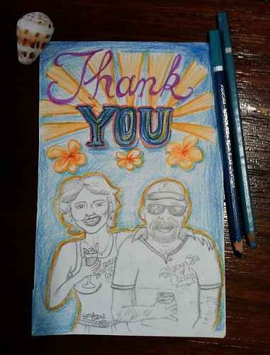 A small thank you note