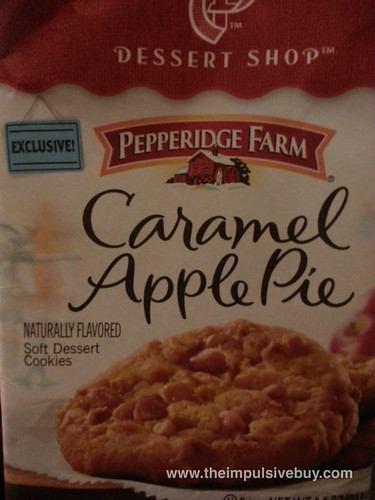 Exclusive Pepperidge Farm Dessert Shop Caramel Apple Pie