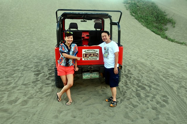 Innovators of Sandboarding in the Philippines