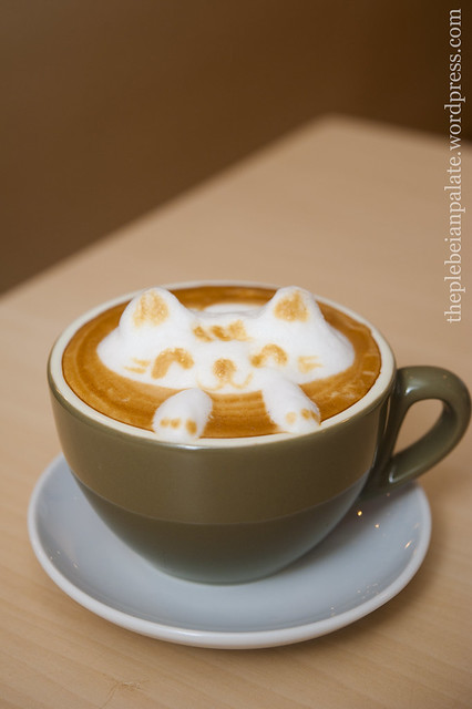 3D Latte Art but no 3D Glasses required..
