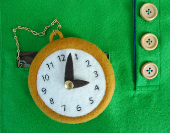 Activity Book: Pocket Watch