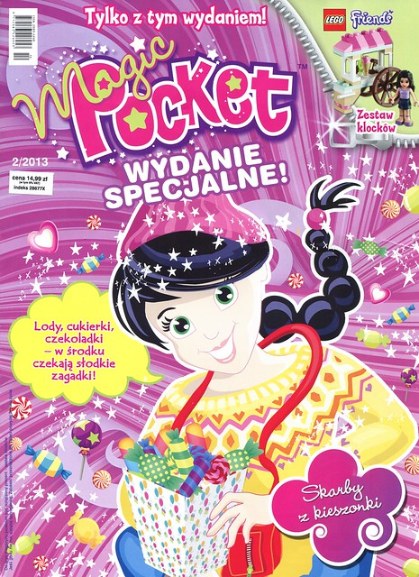Magic Pocket Wydanie Specjalne 2013-02 LEGO friends