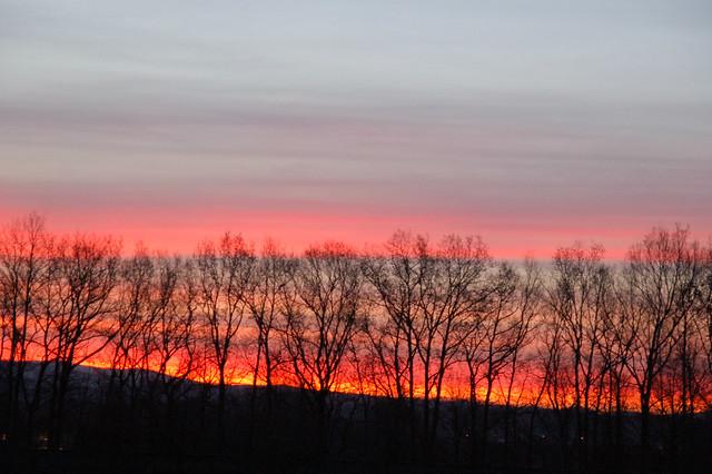 Der Horizont brennt