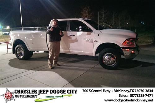 Dodge City McKinney Texas Customer Reviews and Testimonials-Scott Nichols by Dodge City McKinney Texas