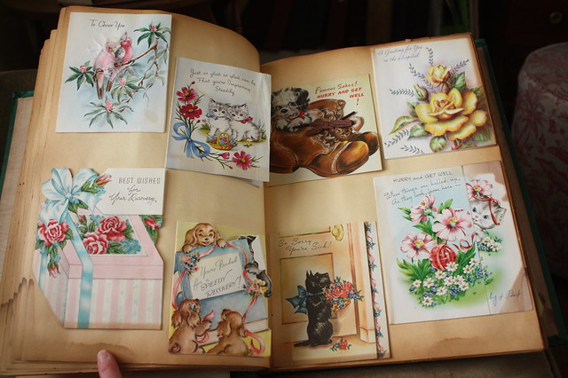 a spread in the book