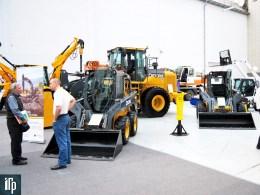 Стенд John Deere на выставке ТехСтройЭкспо