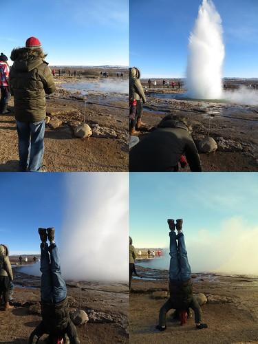 70. geyser headstand