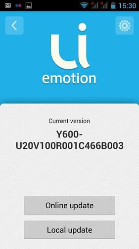 UI emotion สำหรับการอัพเดตซอฟต์แวร์ออนไลน์เหรอ?!?