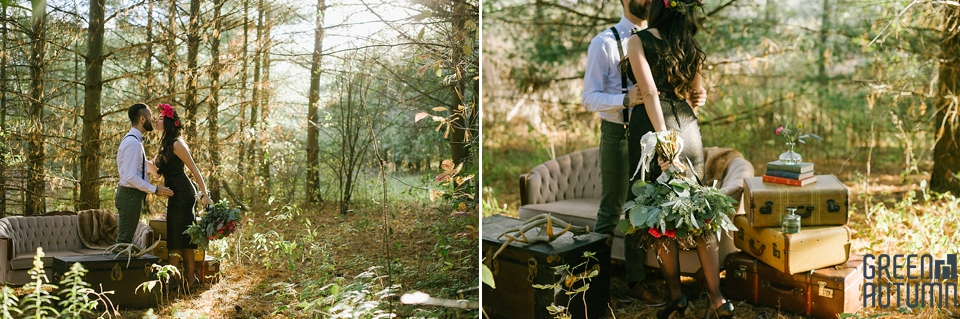 Wedding Creative Inspiration Hamilton Woodland engagement Photography 0004