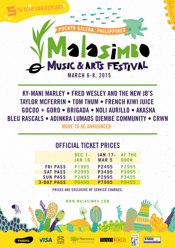 Malasimbo Music and Arts Festival (Line up + Ticket Prices)