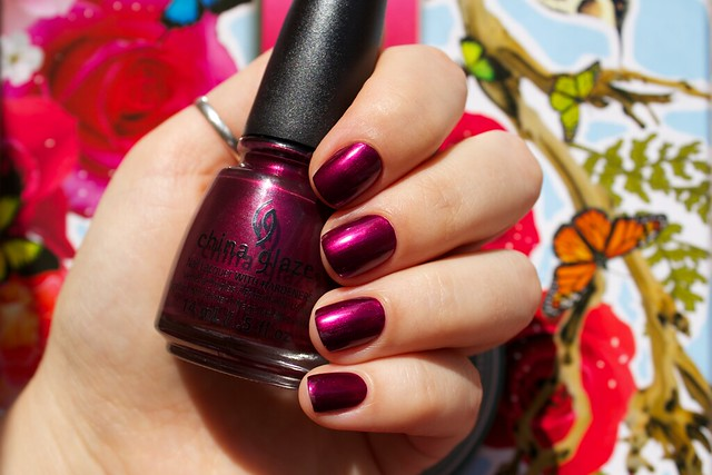 11 China Glaze Autumn Nights Don't Make Me Wine
