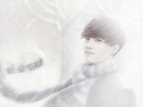 kyungsoo winter fanart