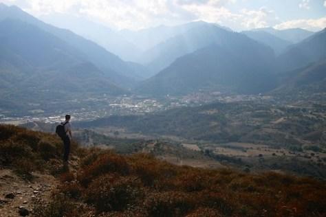 Walk from Sermano to Corte, Corsica