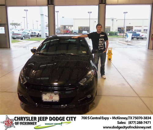Happy Anniversary to Karl Johnson on your 2013 #Dodge #Dart from Ricky Hutto  and everyone at Dodge City of McKinney! #Anniversary by Dodge City McKinney Texas
