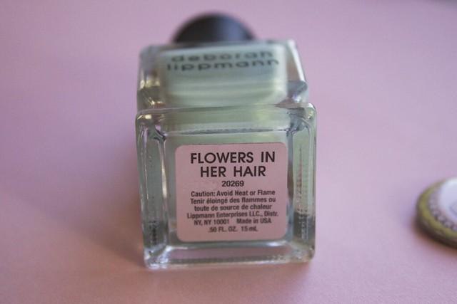 10 Deborah Lippmann Flowers In Her Hair swatches