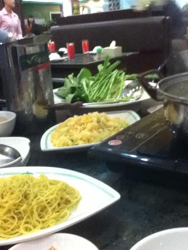 noodle soup fixins