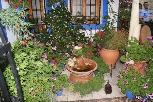 Fuente rústica Patios Córdoba