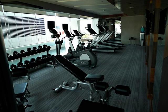 F1 hotel manila gym