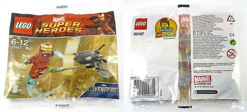 30167 Iron Man vs Fighting Drone box