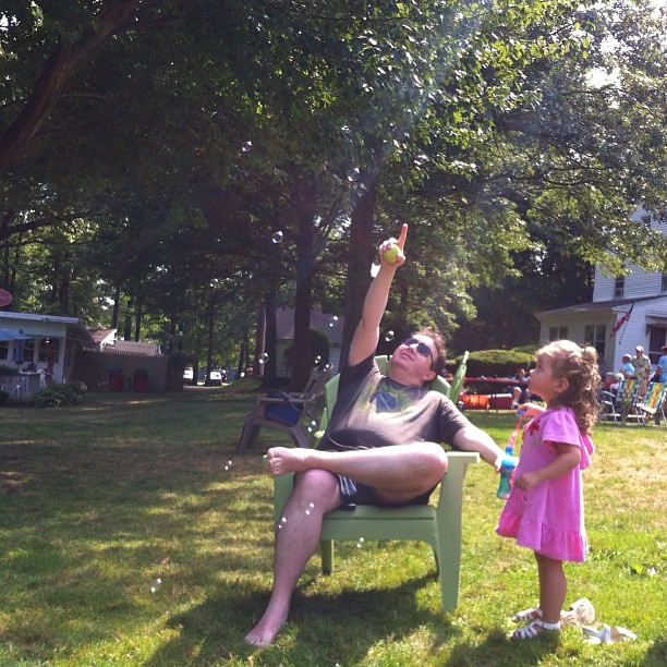 Bubbles with dada