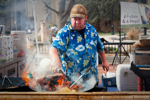 Chow Mein Seller | Pearl Street Mall, Boulder, CO | May, 2013 by Somnath Mukherjee Photoghaphy