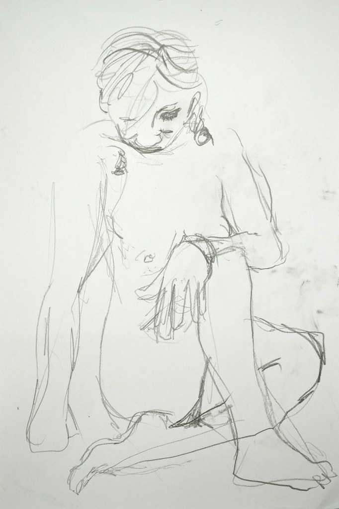 life drawing session 1
