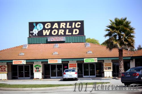 Garlic in Gilroy