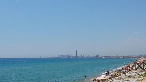 Paseo marítimo Barcelona