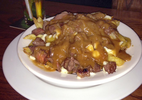 Burgundy Lion Poutine