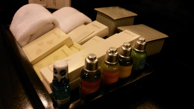 Toiletries at Dusit Thani Manila