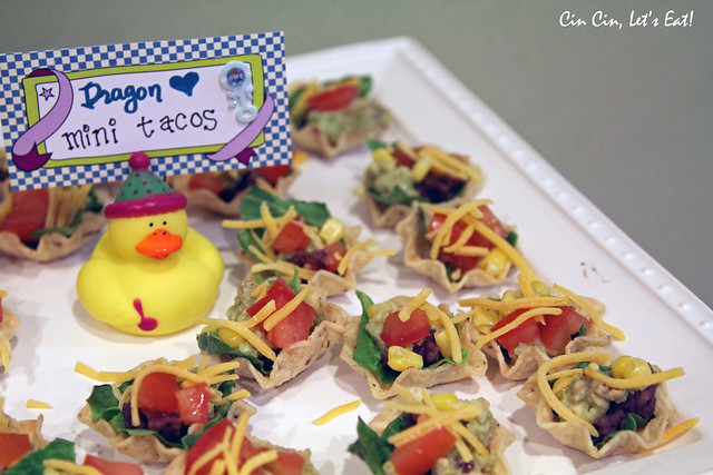 baby shower - tacos