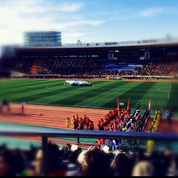 高校サッカー開会式