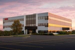Xerox Building At Dusk