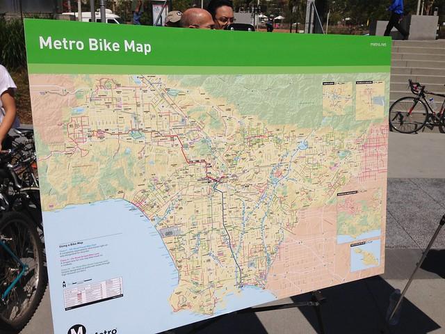 Metro's Bike Map
