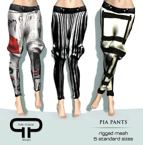 Pure Poison - Pia Pants