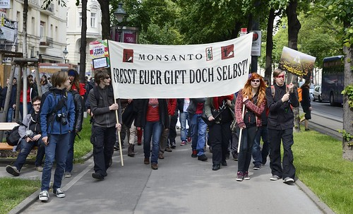 March Against #Monsanto #WIEN