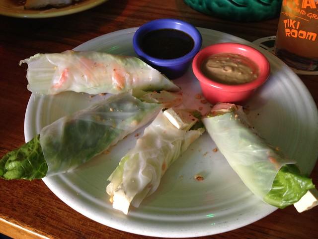 Vietnamese spring rolls - Hula's Island Grill